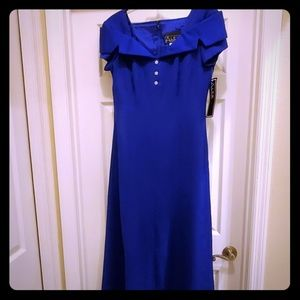 Formal Evening gown by Alex, Royal Blue